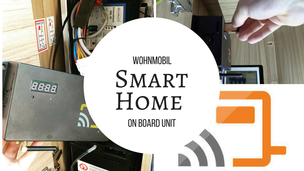 caracontrol on board unit smart home wohnmobil. Black Bedroom Furniture Sets. Home Design Ideas